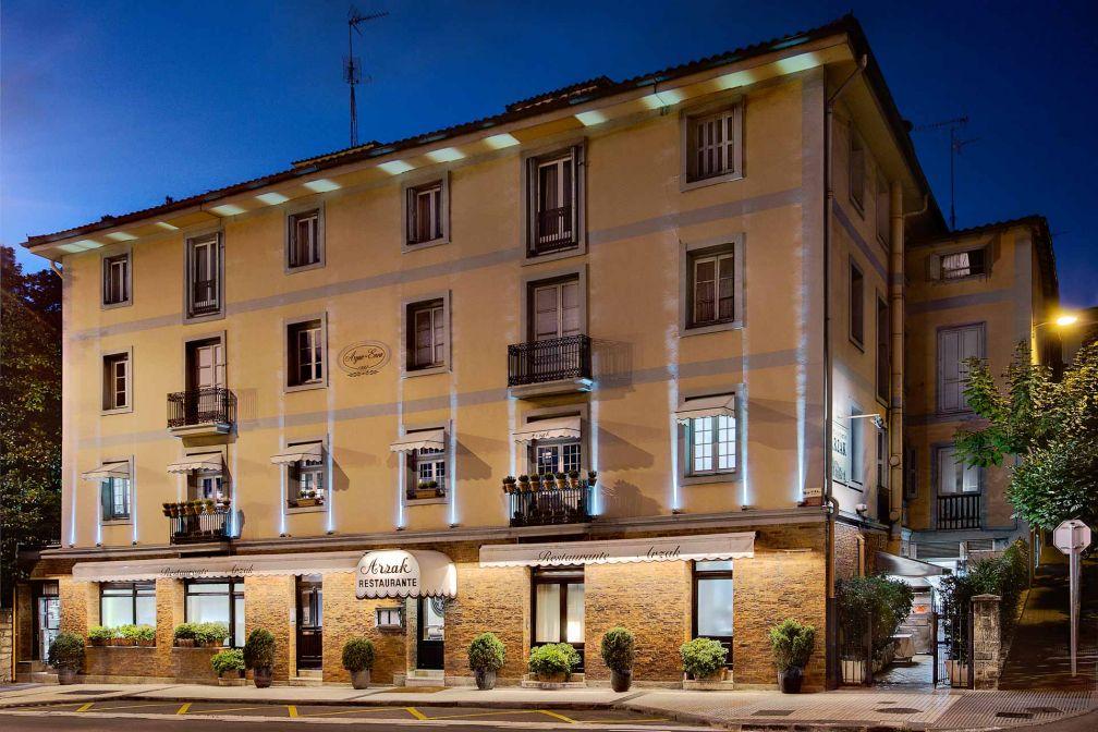 La façade du restaurant Arzak, dans les faubourgs de San Sebastián © José López