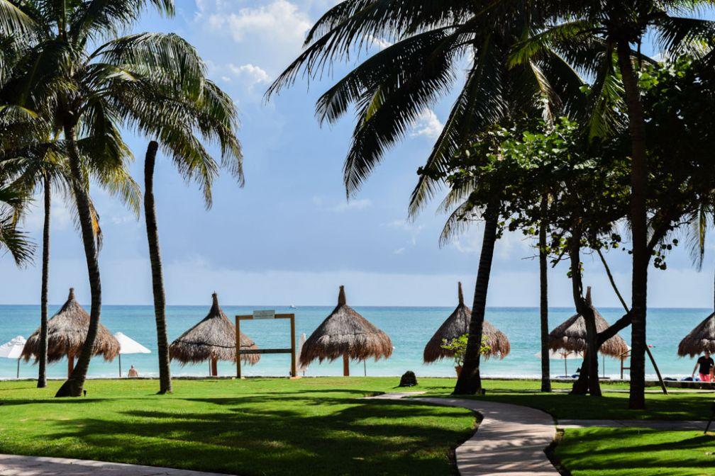 Difficile d'imaginer un cadre plus paradisiaque que celui du Belmond Maroma Resort & Spa sur la Riviera Maya au Mexique © Yonder.fr
