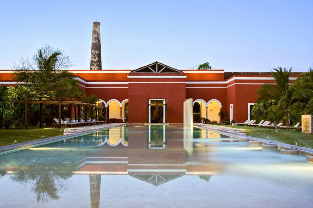 Bienvenue à l'Hacienda Temozon © Luxury Collection / Starwood