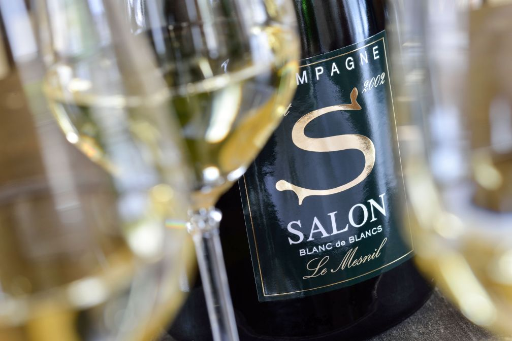Le millésime 2002 de la Maison Salon, l'une des plus prestigieuses de champagne © Salon & Delamotte
