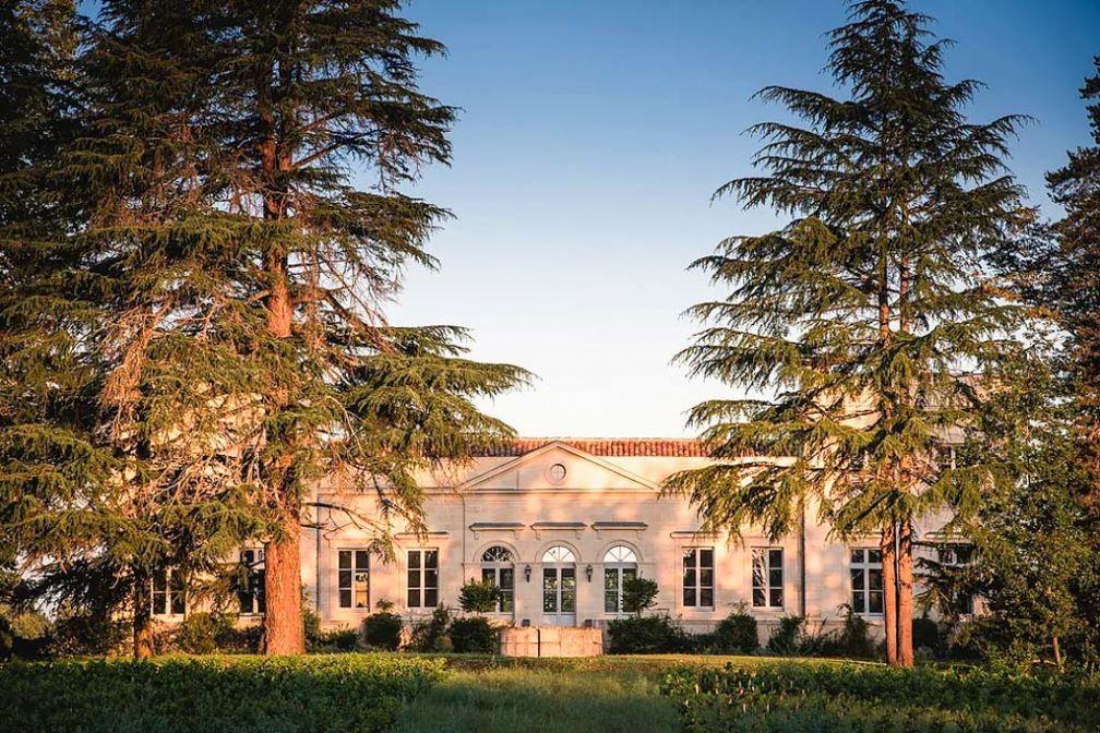 Le Château Le Pape, une étape de choix pour séjourner dans les vignobles bordelais © Château Le Pape