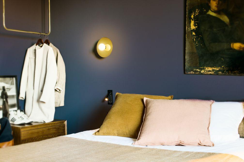 Dans l'une des chambres du C.O.Q., nouvelle adresse boutique et design du 13ème arrondissement © C.O.Q.