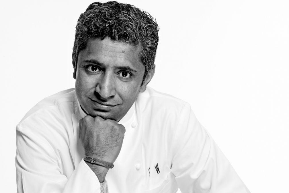 Sylvestre Wahid, né au Pakistan et devenu l'un des grands chefs français suite à ses rencontres avec Thierry Marx et Alain Ducasse.