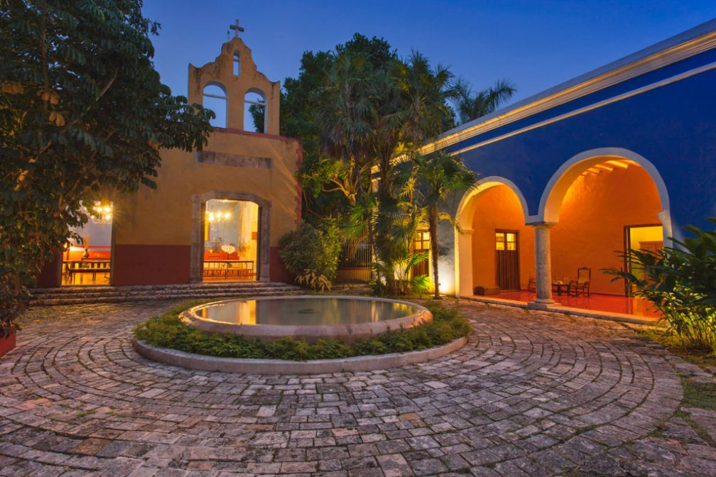 Tout le charme de l'Hacienda San José résumé en un cliché © Starwood Luxury Collection