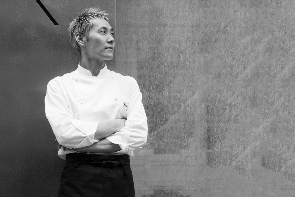 Kei Kobayashi, propriétaire et chef de Kei, est originaire du Japon mais s'est affirmé comme un grand chef de cuisine française contemporaine.