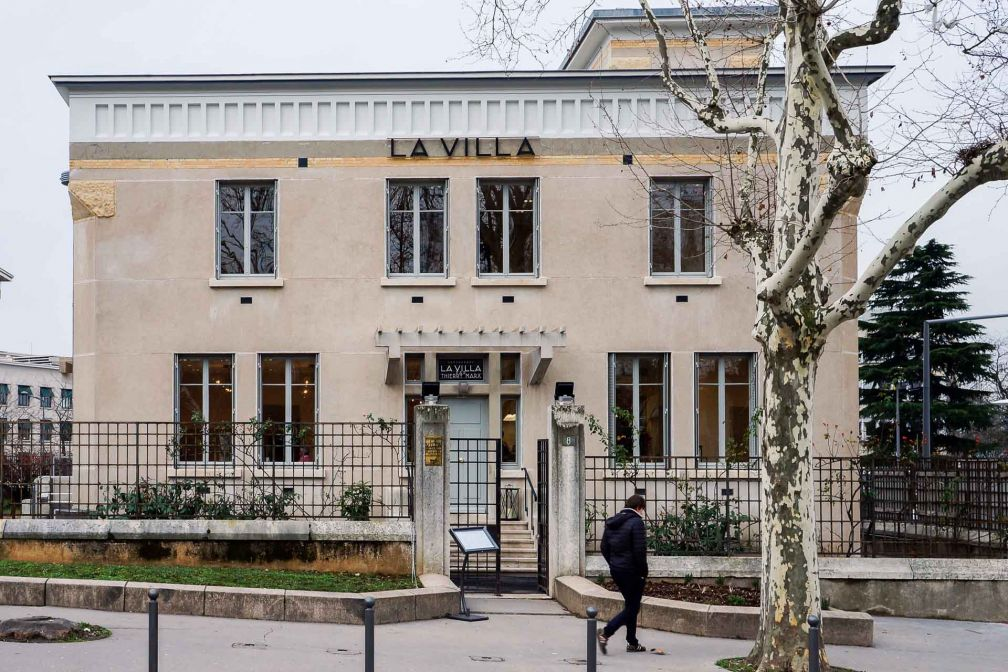 Le pavillon 17 de l'Hôpital, construit en 1933, abrite le nouveau pied-à-terre lyonnais de Thierry Marx © Pierre Gunther