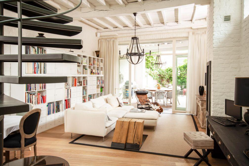 Vivez comme un véritable Brugeois dans le très chic salon de la Maison Amodio © David Godichaud