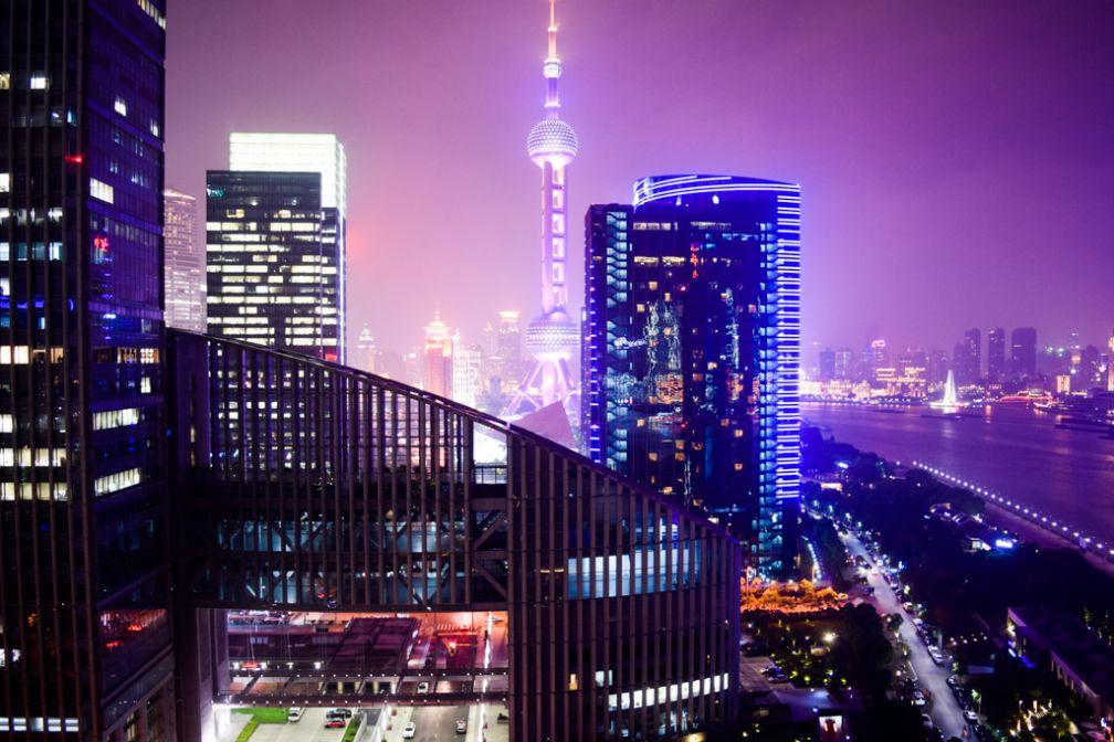 Vues spectaculaires sur Shanghai depuis notre chambre Club Mandarin River View © Yonder.fr
