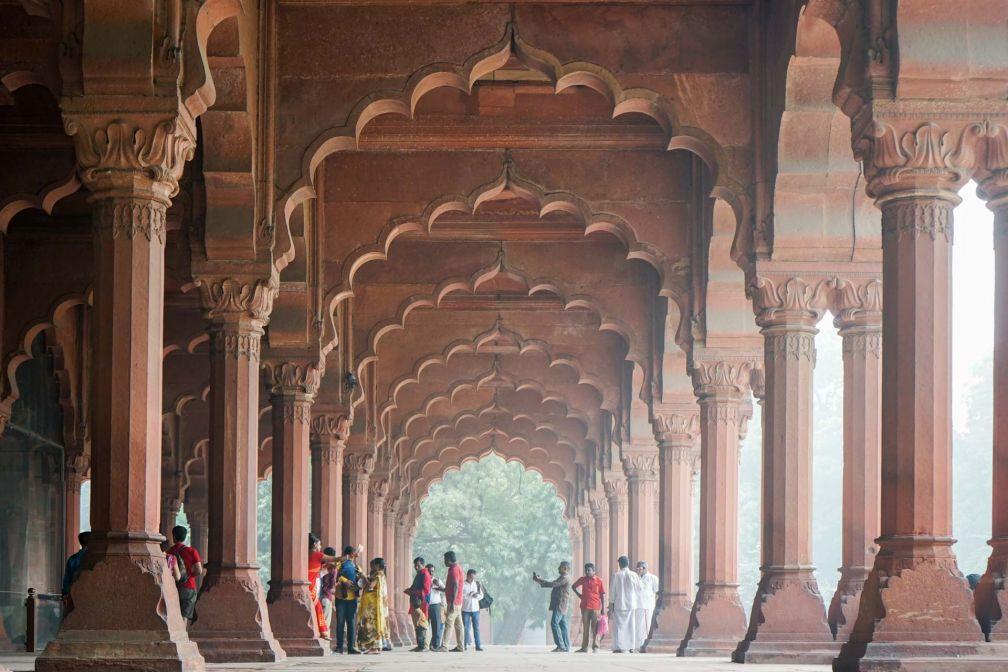 Le Fort Rouge (Red Fort) est l'un des monuments emblématiques de la capitale indienne © YONDER.fr