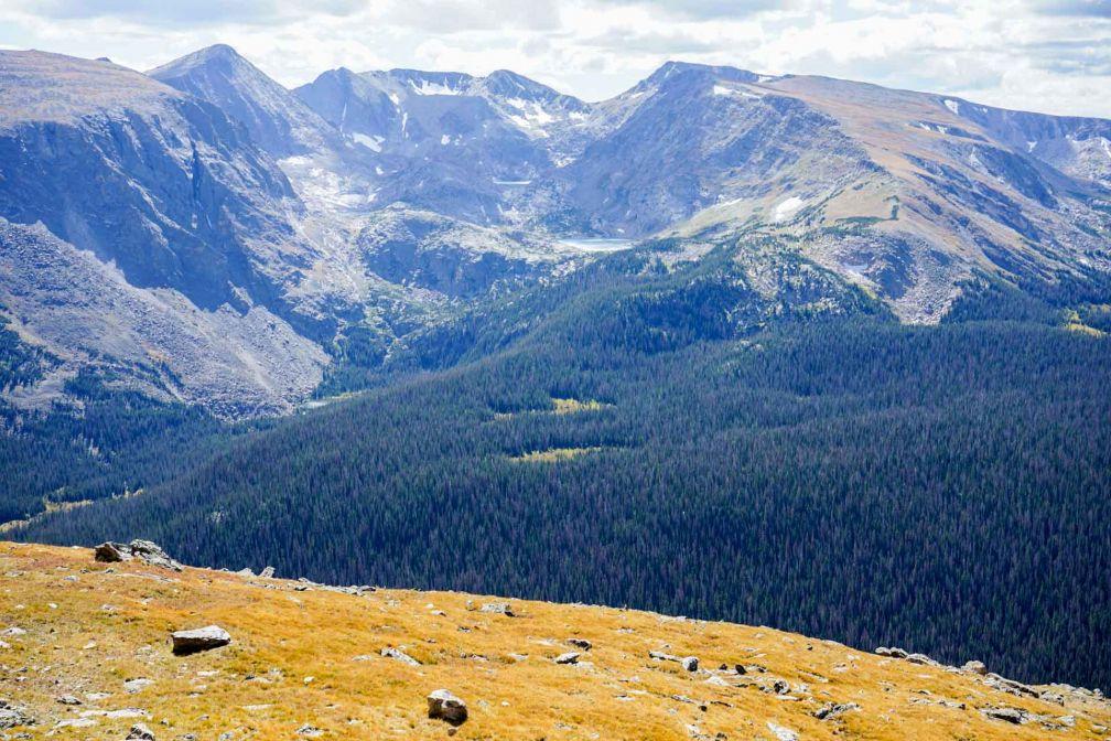 Les paysages grandioses du Rocky Mountain National Park, à plus de 3,700 mètres d'altitude © YONDER.fr