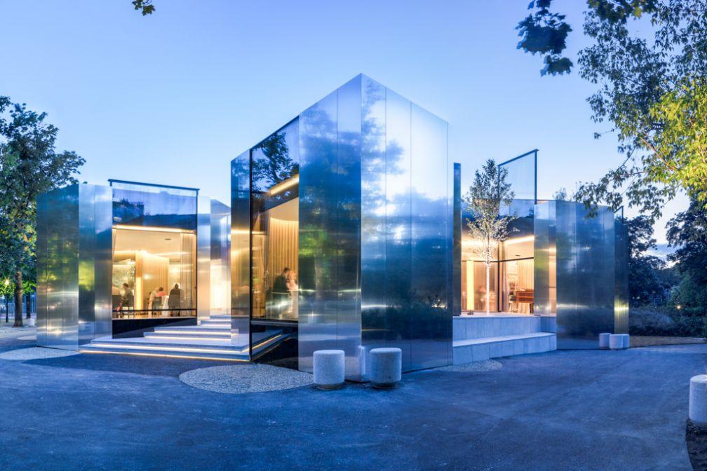 Architecture contemporaine pour le restaurant Steirereck, le 10ème meilleur restaurant du monde selon les