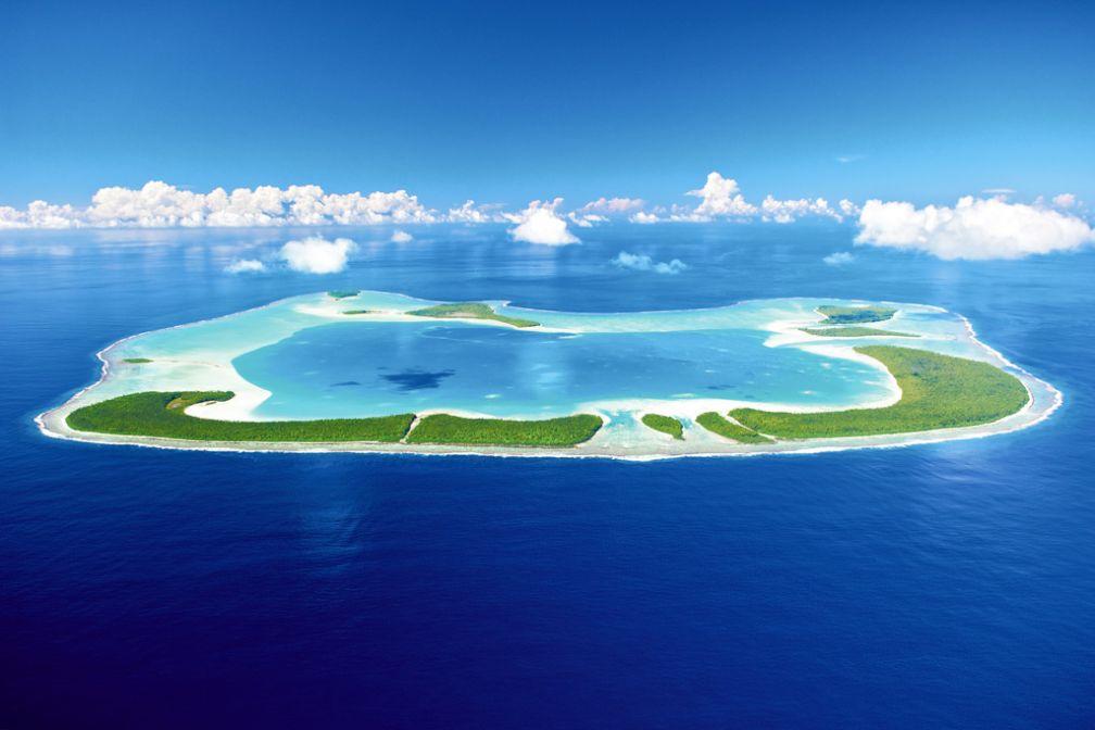 C'est sur Tetiaroa, atoll de 6 kilomètres carrés à 53 kilomètres au nord de Tahiti, que The Brando a ouvert ses portes en 2014 © The Brando