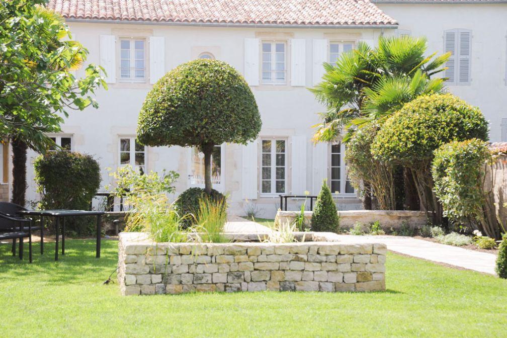 Dans le jardin de la Villa Clarisse © Villa Clarisse