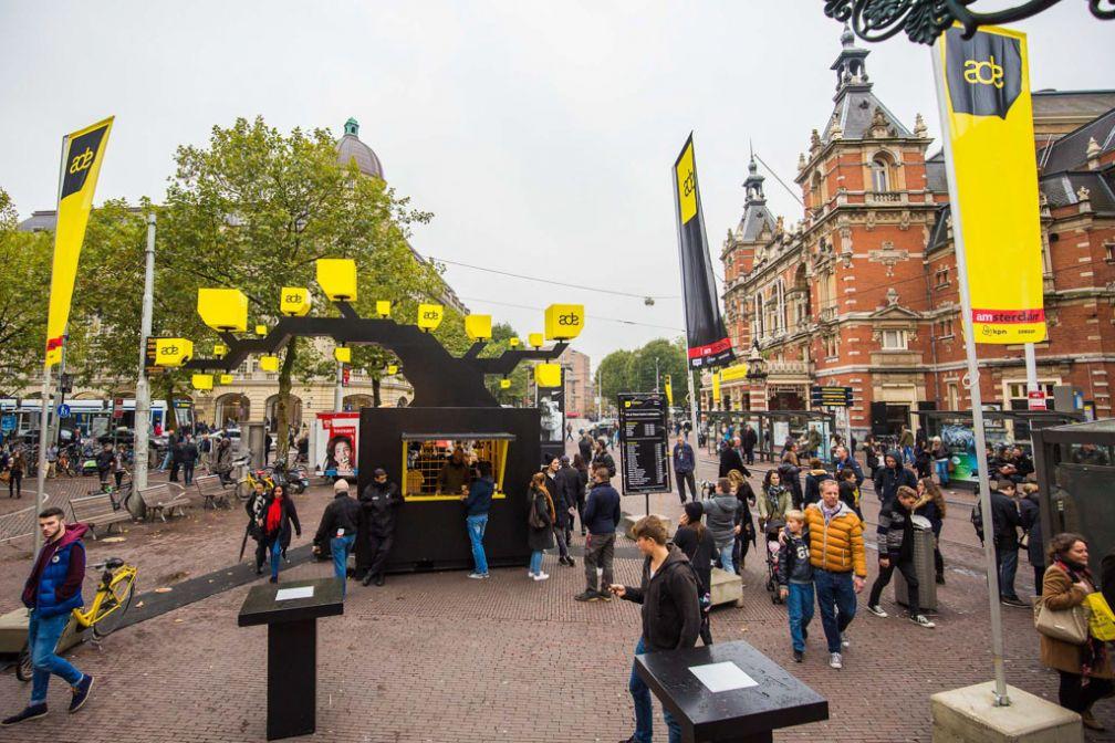 ADE s'affiche partout en ville pendant la durée du festival © ADE