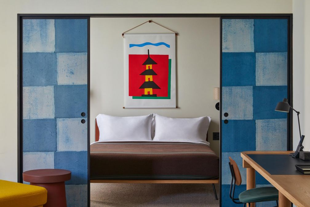 Ace Hotel Kyoto : à l'intérieur de la suite signatre 'Ace Suite' © Yoshihiro Makino