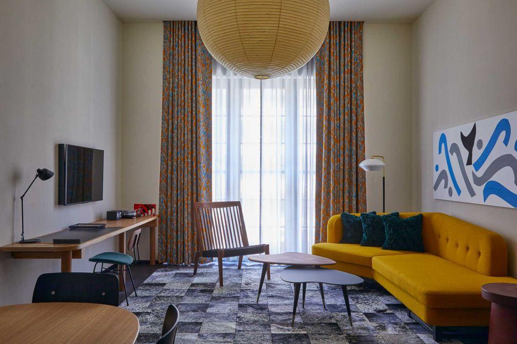 Ace Hotel Kyoto : à l'intérieur de la Loft Suite © Yoshihiro Makino