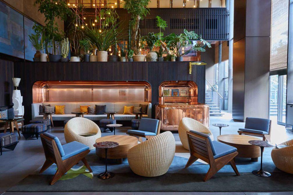 Ace Hotel Kyoto : PIOPIKO Lounge © Yoshihiro Makino