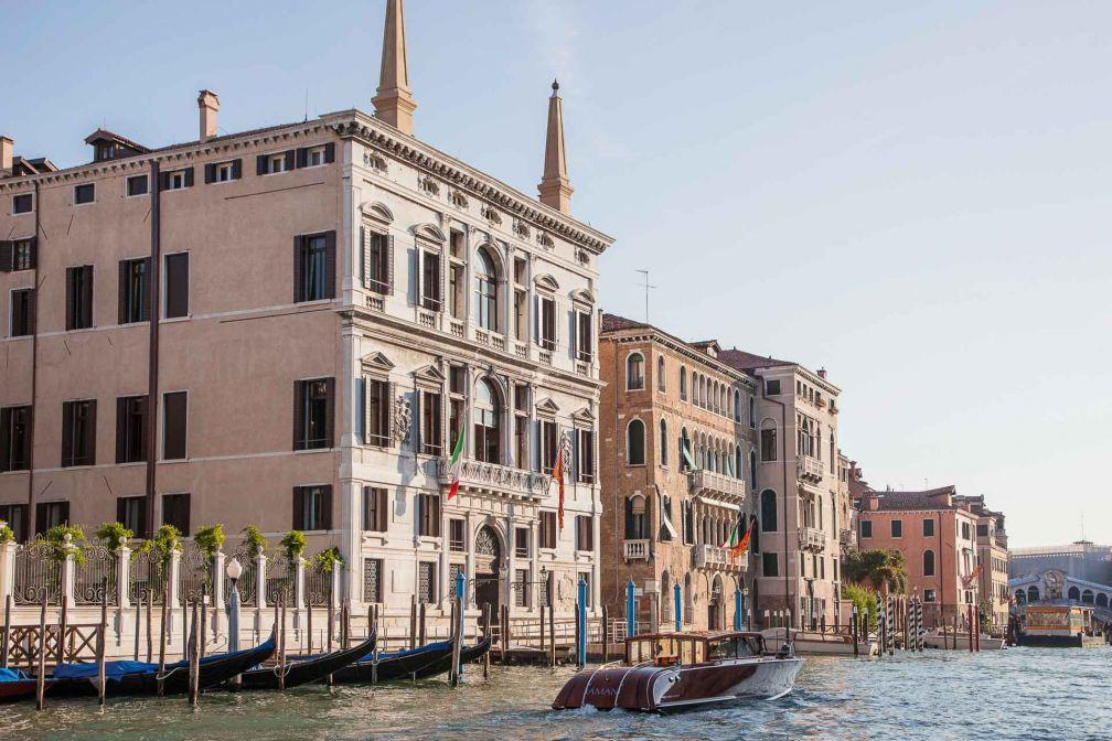 Aman Venice s'est installé dans un prestigieux palais du XVIe siècle sur le Grand Canal © Aman