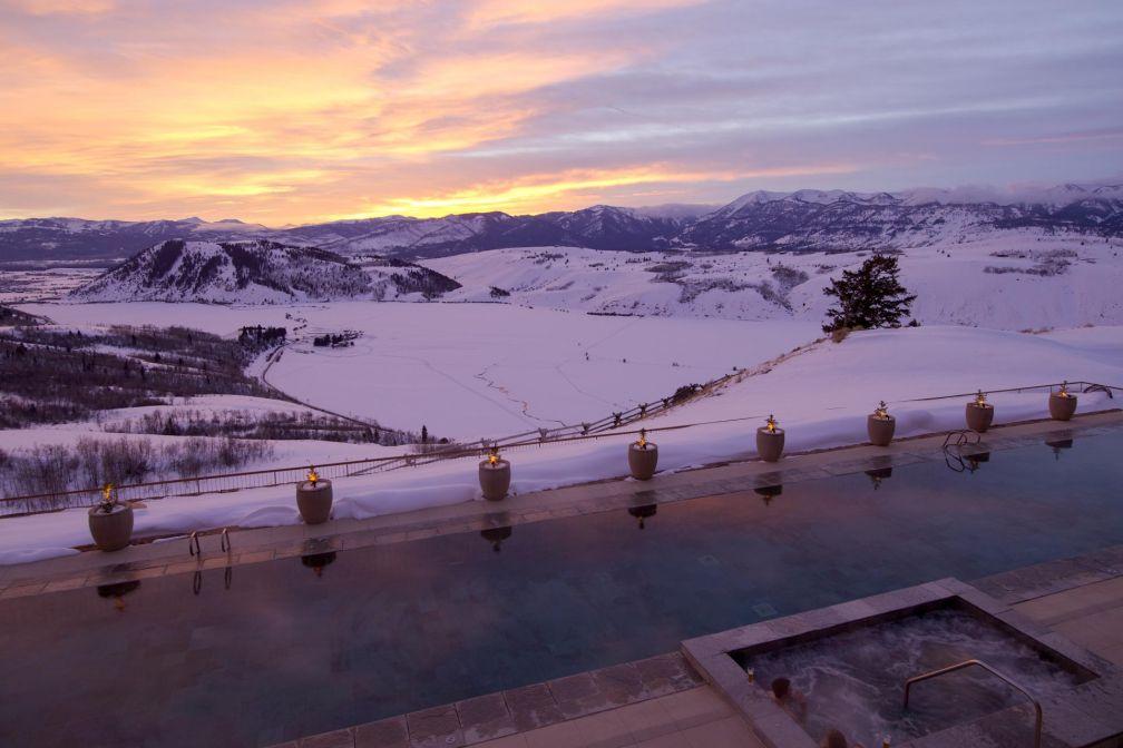 L'Amangani, propriété signée Aman Resorts, est le resort le plus exclusif de Jackson Hole © Aman