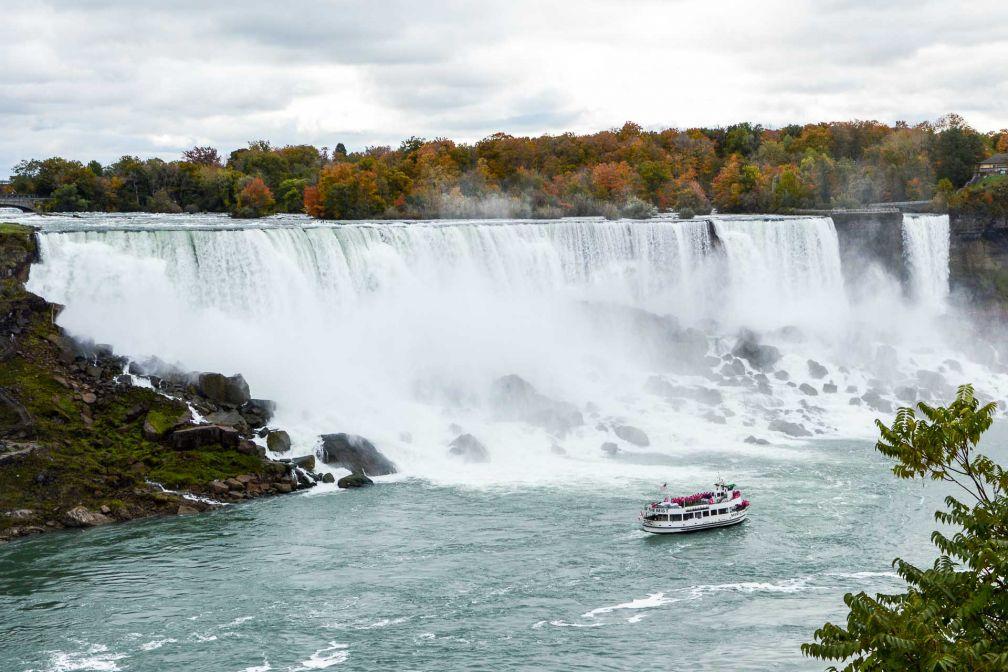 À 1h30 du centre de Toronto, les chutes du Niagara, site touristique mondialement connu © Camille Hispard