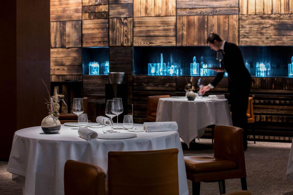 La salle à manger du Clos des Sens © M. Cellard
