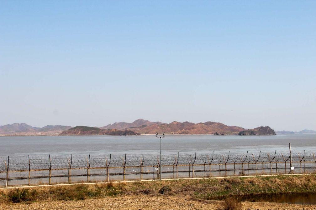 Depuis 1953, un no man's land long de 250 kilomètres sépare les deux Corées © Pierre Gunther