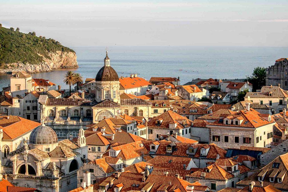 Vue sur la vieille ville de Dubrovnik © DR