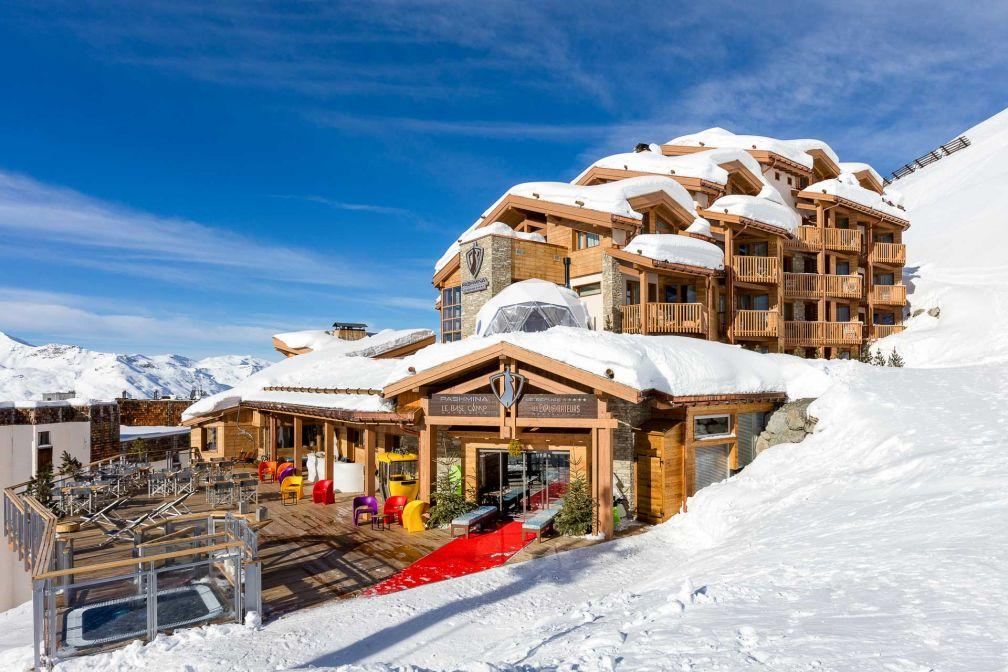 Le Pashmina domine la station de Val Thorens, à plus de 2,300 mètres d'altitude © DR