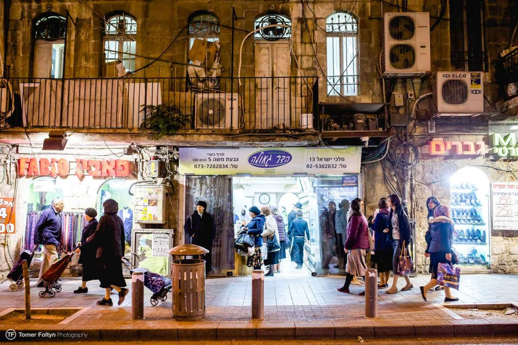 Open Restaurants Jerusalem - Mea Shearim Tour © Tomer Foltyn