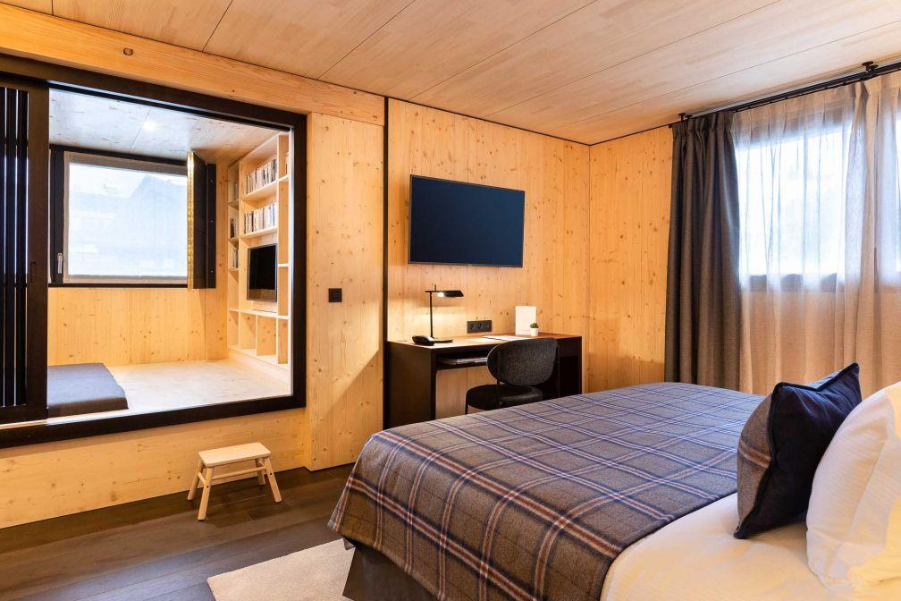 Chambre Deluxe au St-Alban Hotel & Spa © Fabrice Rambert