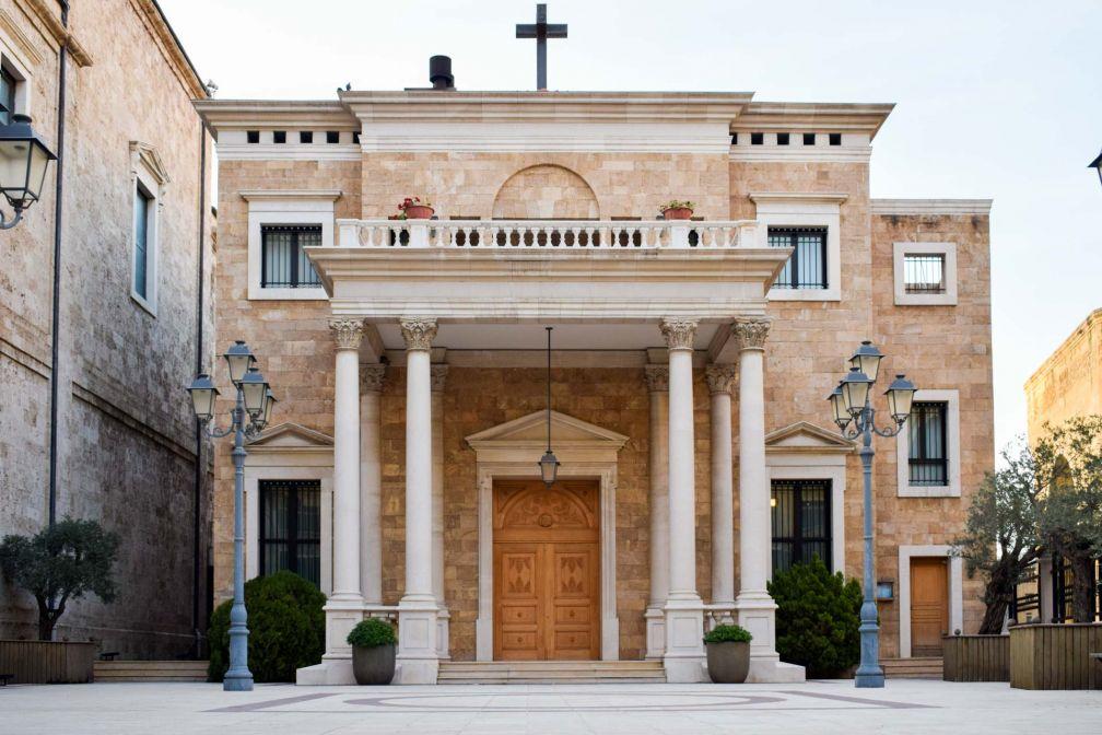 La cathédrale Saint-Georges des Maronites (fin XIXème) est la cathédrale de l'archidiocèse maronite de la ville © YONDER.fr