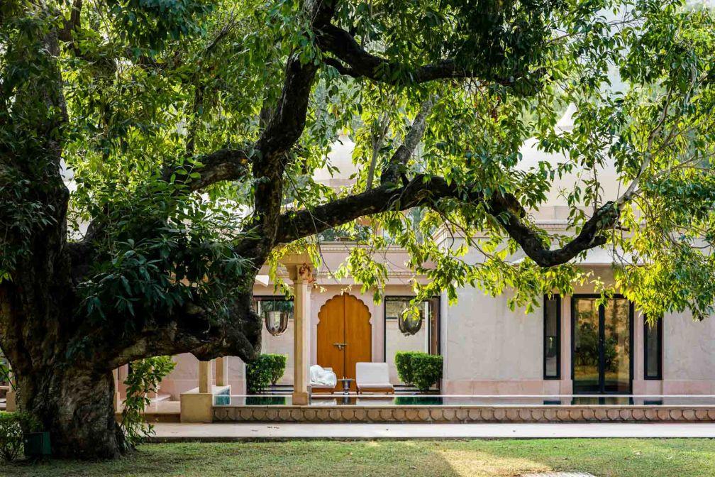 L'Amanbagh dispose de 15 villas avec piscine privées © YONDER.fr
