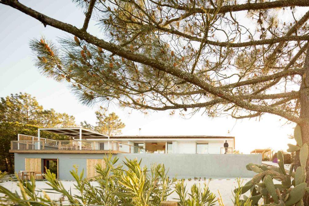 Campo de Arroz est l'une des trois maisons imaginées par Alma da Comporta © DR