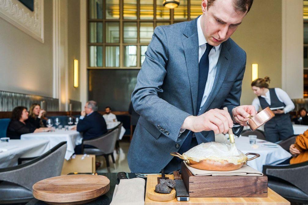 La préparation de la tarte à la truffe © YONDER.fr