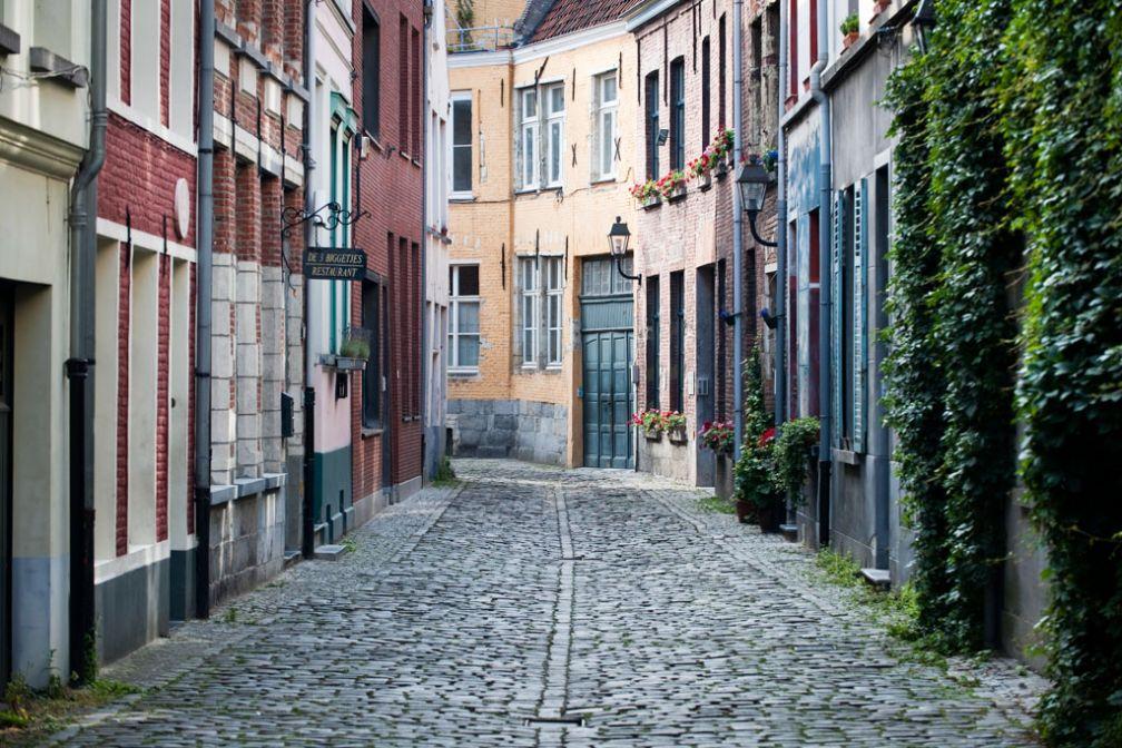 Charmante ruelle dans le non-moins charmant quartier historique de Patershol © VisitGent