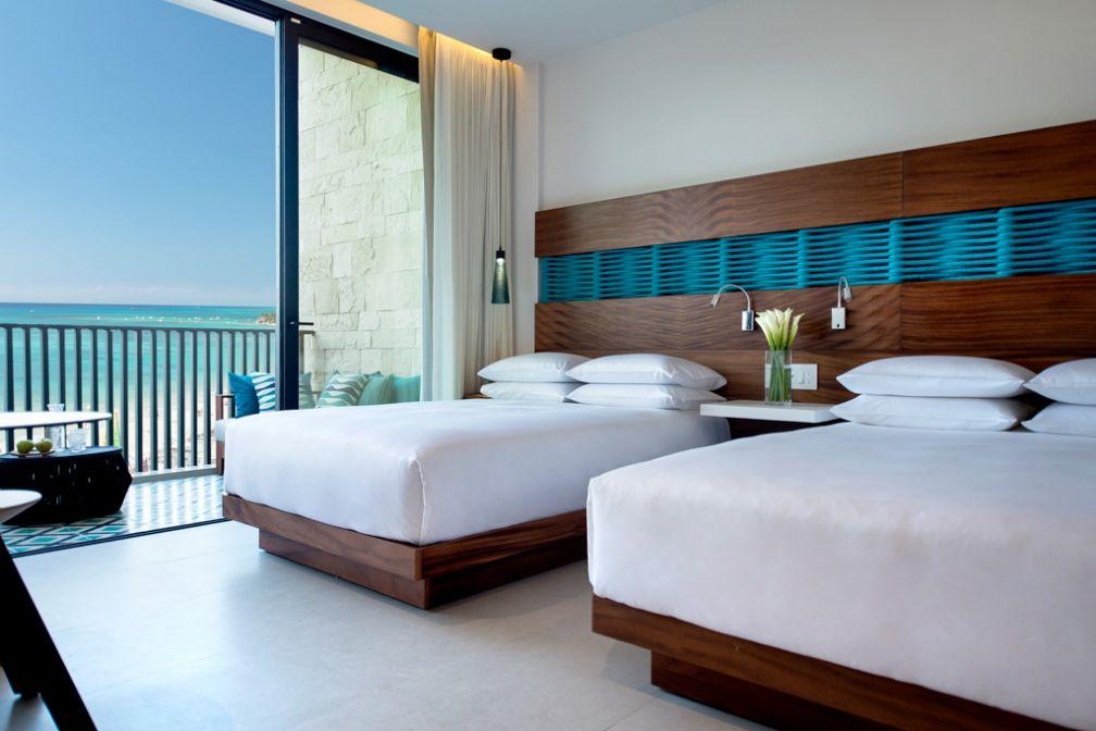 Les chambres Ocean View sont recommandées pour profiter des vues sur l'océan © Grand Hyatt Playa del Carmen