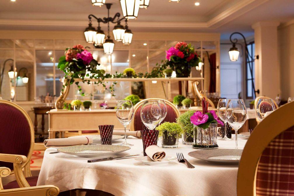 La Table du Connétable est le restaurant gastronomique étoilé de l'établissement © DR