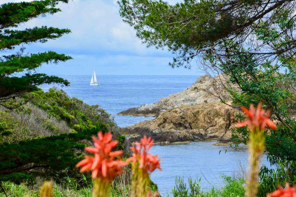 L'hôtel 4-étoiles est situé en pleine nature sur l'île de Porquerolles © Emmanuel Laveran