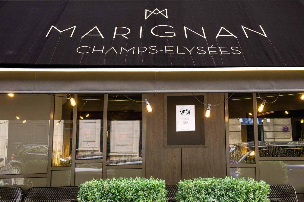 Limon est la nouvelle adresse signée Juan Arbelaez au sein de l'Hôtel Marignan © Hôtel Marignan