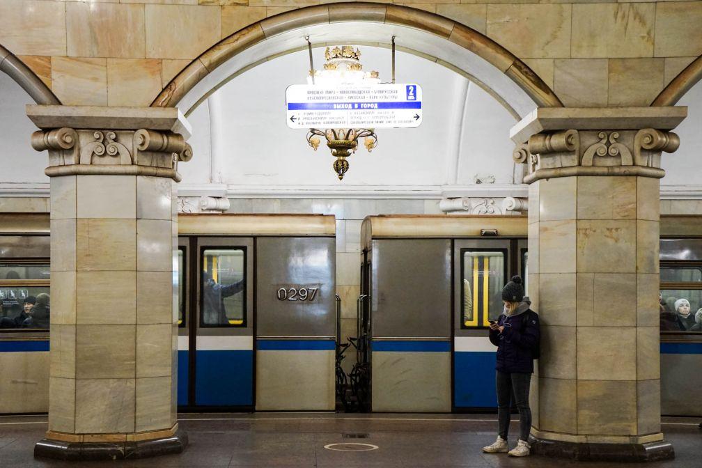 À l'intérieur du Métro de Moscou © YONDER.fr