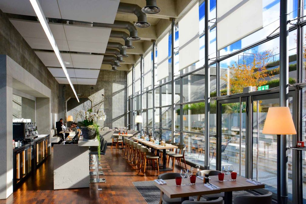 Intérieurs du restaurant La City © Emmanuel Laveran