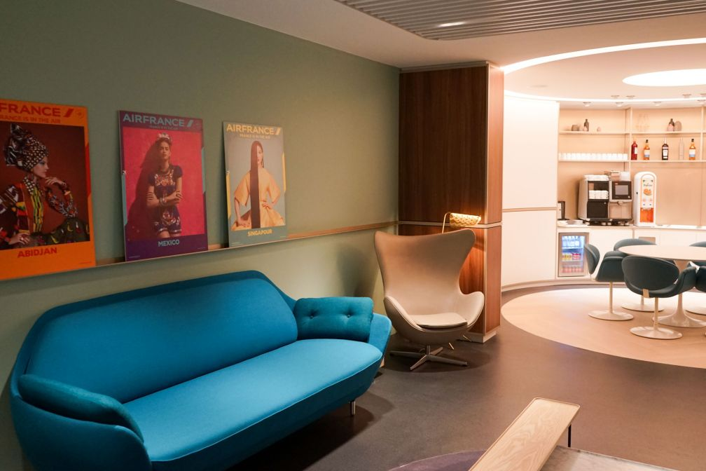 « Le Club », un espace privatisable pour s'isoler ou se réunir au calme © YONDER.fr