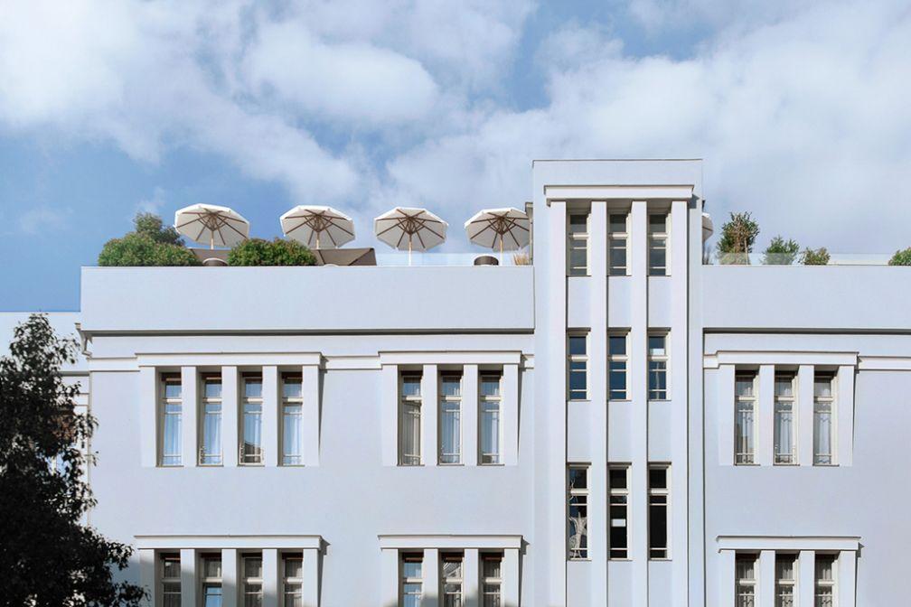 Façade Bauhaus du Norman © The Norman Tel Aviv