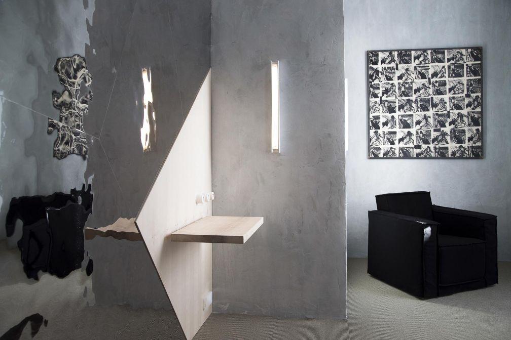 Ambiance arty de loft new-yorkais au Collatéral, adresse arty qui a investi une ancienne église © DR