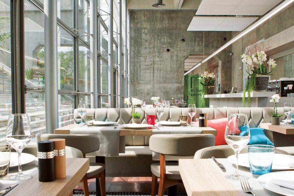 Intérieurs du restaurant La City © DR
