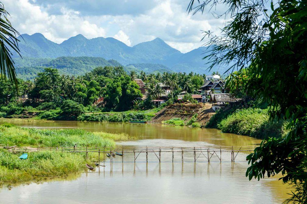 Vue sur la rivière Nam Khan © YONDER.fr
