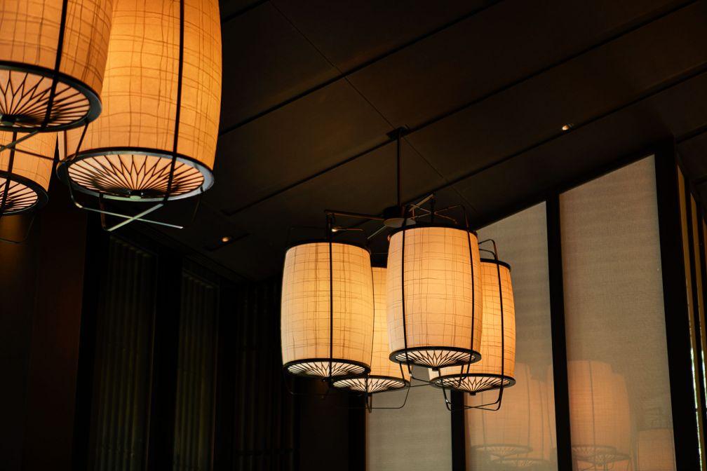 Le restaurant japonais, Taka-an, rend hommage à l'artiste Honami Koetsu (1558-1637) © Aman