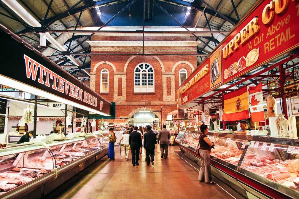 Fondé au début des années 1800, le St. Lawrence Market est un marché historique de la vieille ville de Toronto © DR
