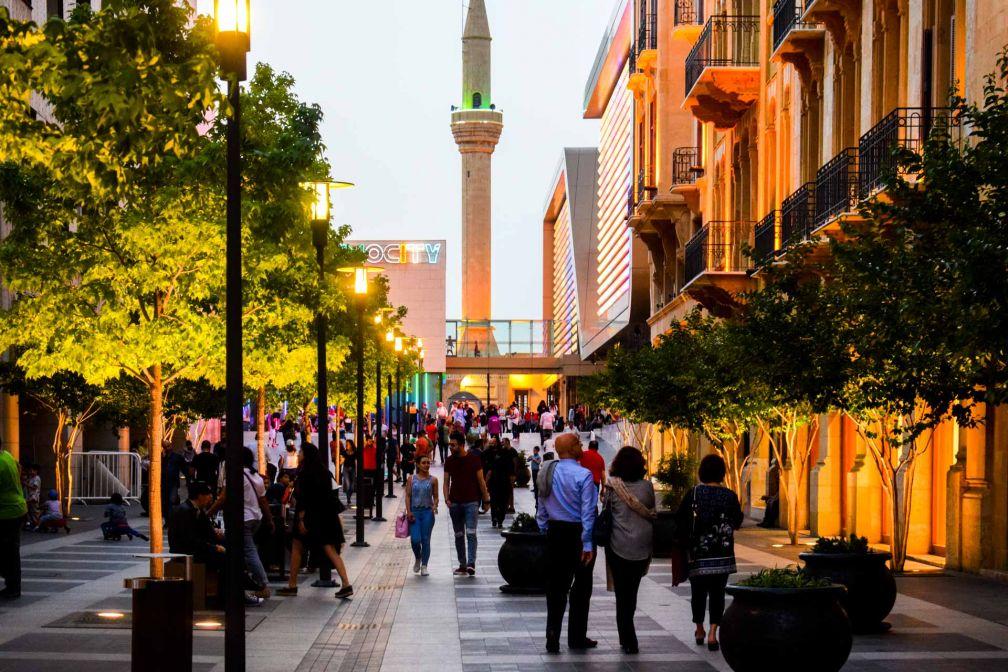 Dans les Souks de Beyrouth, le souk traditionnel revisité façon mall extérieur © YONDER.fr
