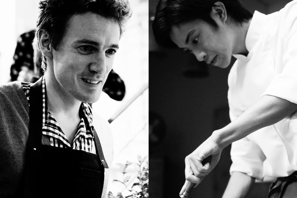 Sugio Yamagushi et Alexandre Philippe, le duo à qui l'on doit Botanique © Botanique Restaurant